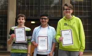 Sieger Blitzturnier U16