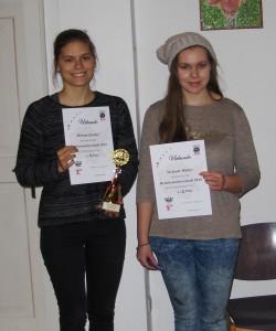 U18w: Strobel (1.) und Walter (2.)