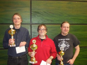 2. Thomas Lais, Meister Andreas Götz, 3. Helmut Luther